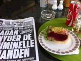 Scandinavian style pate. Mind blowing selection of danish/norwegian open sandwiches.  What a joy after 4 weeks in Asia!