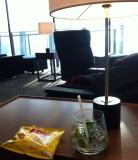 Mojito at the Cathay Pacific Lounge at Suvarnabhumi