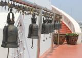 Bells and steps at Wat Saket