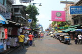 Khao San Road revisited. Stayed here in 2002 and 2007.