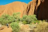 Approaching Uluru