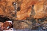 Cave with Aboriginal Art