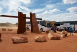 Changing Buses in the Outback!