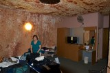 Our Underground Room at the Desert Cave Hotel