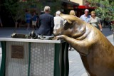 Oliver, a Bronze sculpture in Adelaide