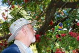 Fred and Parrot in conversation!