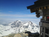 The shrine of a summit