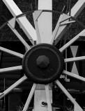Detail windmill near Amsterdam