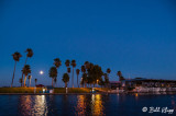 Moon over Discovery Bay Marina  2