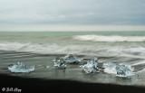 Jokulsarlon Iceberg Beach  6