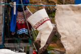 Seal skin clothes drying, Sisimuit  1