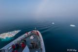 Fog Bow over National Geographic Explorer,  Disko Bay  3