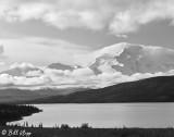 Wonder Lake & Mt. Denali  1a  B&W