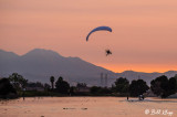Powered Paragliding into Sunset  11