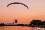 Powered Paragliding into Sunset  12