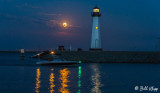 Blue Moon over Discovery Bay Lighthouse  17