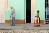 """Walking to Scootering"", Trinidad"