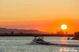 Sunset Boating  1