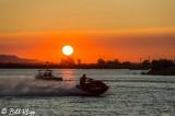 Wave Runner Sunset  2