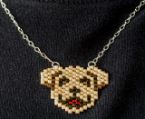 Dog Pendant - Sold