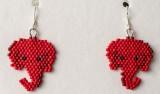 Republican Elephant Earrings #1 sold
