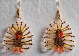 Bird: Turkey Earrings (4th pair) (sold)