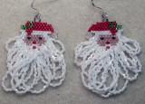 Santa with Fringe Beard (#5) Sold
