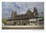 Reflections of Mersey Docks & Harbour building
