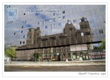 Reflection of the Port Of Liverpool building by day