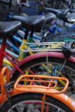 Colourful bikes