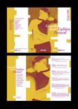 Fashion festival brochure