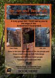 Aframe poster for tour shop