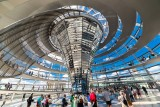 Beneath the Reichstag Dome
