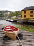 Rowboat on the quay