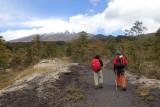 Paso Desolación trail