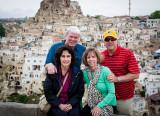Tim, Kathy, Brad, Susan in Goreme