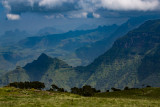 Beautiful Scenery in the Simien Mountains