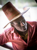 Alaba Man with Tall Hat