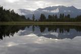Lake Matheson, New Zealand South Island