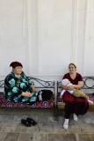 Samarkand, at Shah-I-Zinda
