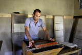Samarkand, traditional paper factory