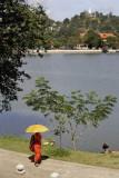 Kandy, view from Malwatta Monastery