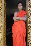 Kandy, at Malwatta Monastery