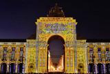 Comércio Square, Arco light and sound show