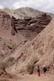 Around Tupiza, Valle de los Machos