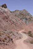 Along Tupiza River, dusty road