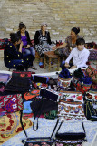 Sakhrisabzba, sellers at Ak Saray Palace