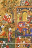 Bukhara, painting at Emir Summer Palace