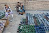 Bukhara, street selling