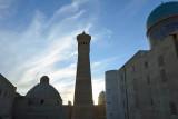 Bukhara, Mir-i-Arab Medressa, Kalon Minaret and Mosque